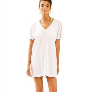 NWT Lilly Pulitzer white Bonita coverup size XL